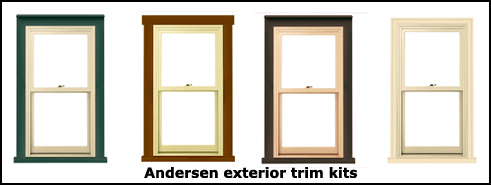 Remodeling with Andersen exterior trim kits – Gordon Harris