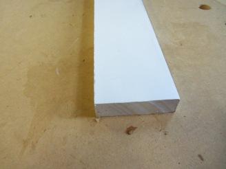 PVC trim board