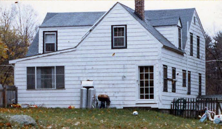 The house as it appeared in 1985
