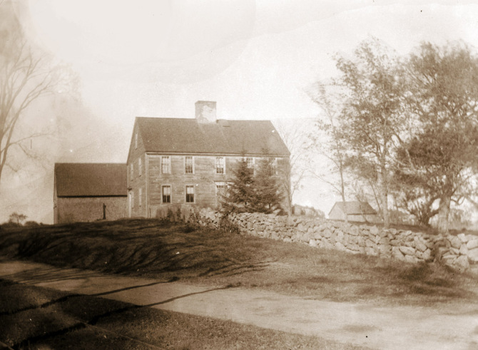 Moses Jewett house, High St., Ipswich MA